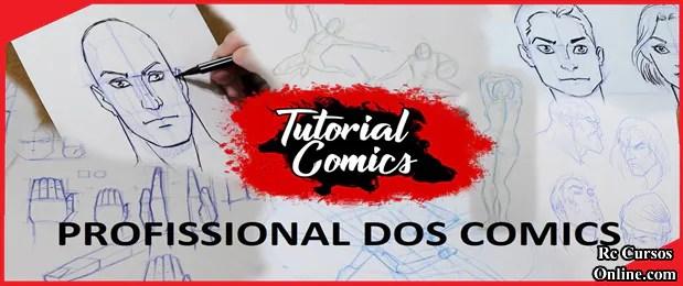 Curso-De-Desenho-Comics Como Aprender-a-Desenhar-Comics