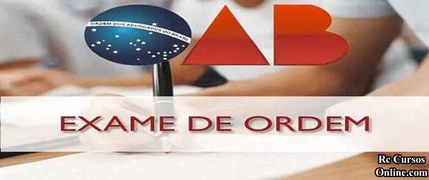 O cronograma do APROVADO no Exame de Ordem da OAB
