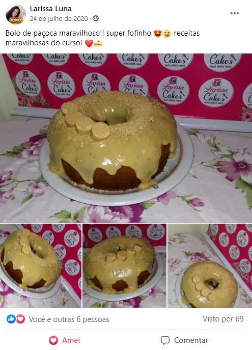 3 meus resultados curso bolos caseiros - Curso De Bolos Caseiros Funciona Mesmo?