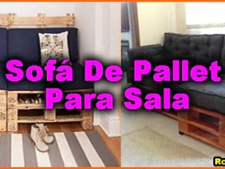 11 sofa de pallet para sala - Sofá De Pallet Para Sala Móveis Feito De Paletes (Imagens De Inspiração).