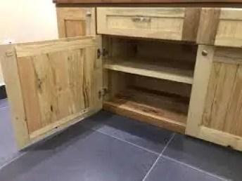 8 armario de paletes - Armário De Cozinha De Pallet:  Inspire-se Em Ideias De Móveis De Paletes.