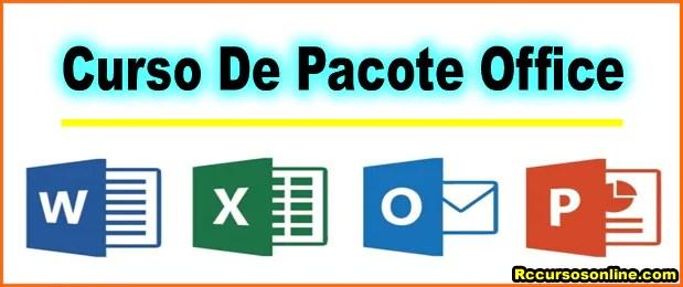34 curso de pacote office rc cursos online - Rc Cursos Online Com Certificado Digital.