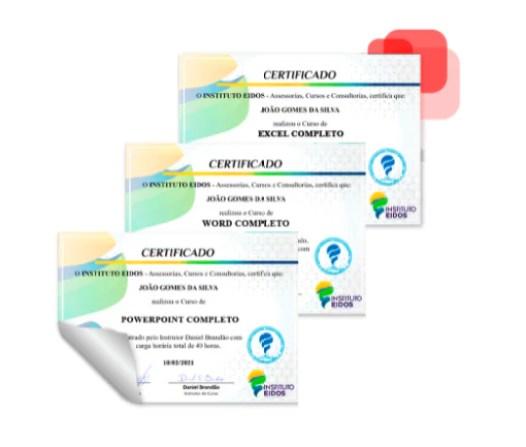 certificado pacote office rc cursos online - Curso Pacote Office Com Certificado.
