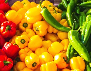 Peppers add flavor to many Mexican foods