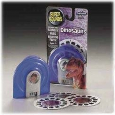 Discovery Channel Super Sounds View Master Dinosaurs 3