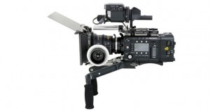 SONY PMW F5. ( RED LENS not shown)