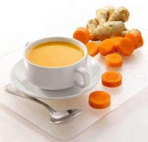 Gluten Free Carrot and Ginger Bisque