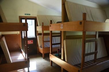 Routeburn Flats Hut Bunkroom