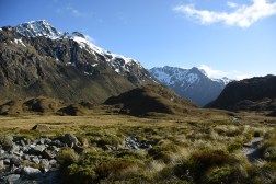 the valley following Routeburn Falls