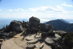from the summit