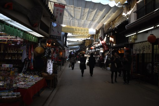 shopping alley