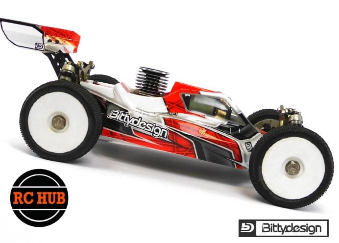 RC-HUB Force Clear body for TLR 8ight 10