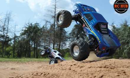 "TRAXXAS PUTS THE ""BIGFOOT"" DOWN"
