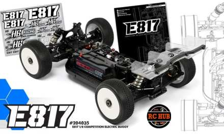 HB RACING 1/8 ELECTRIC OFF-ROAD BUGGY