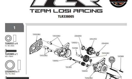 TLR LAYING IT DOWN… IN A KIT