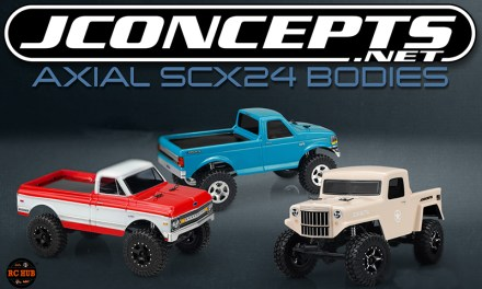 JConcepts Axial SCX24 Bodies
