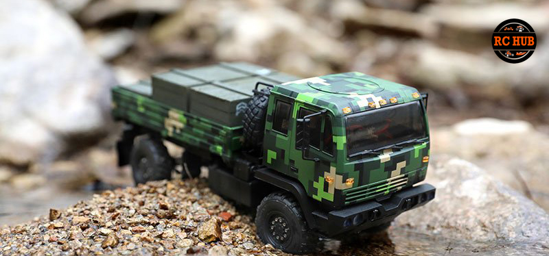 Orlandoo 1/32 4WD Full Leaf Spring Military Tractor Truck Kit Combo Set