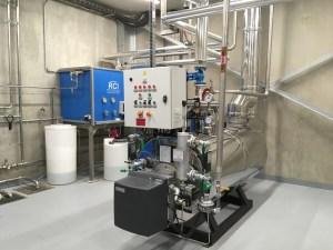 chaudière vapeur industrielle