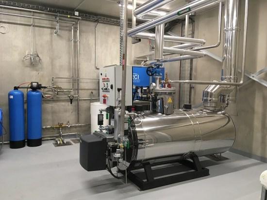 chaufferie vapeur rci distillerie