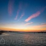 surf city nc bridge construction sunset rachel carter