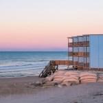 Sandbags Sunrise Topsail Reef North Topsail Beach NC