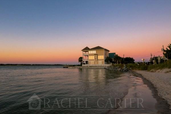 Sunset South Topsail Beach NC Rachel Carter Images