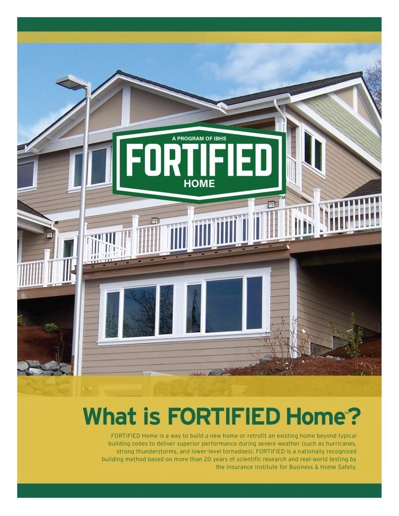about fortified homes rci plus topsail