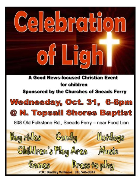 celebration of light sneads ferry nc rci plus topsail