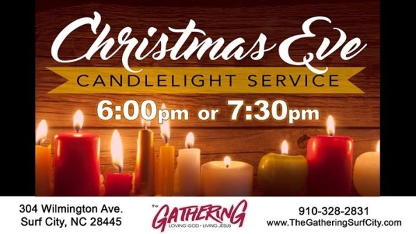 The Gathering Surf City Christmas Eve Service