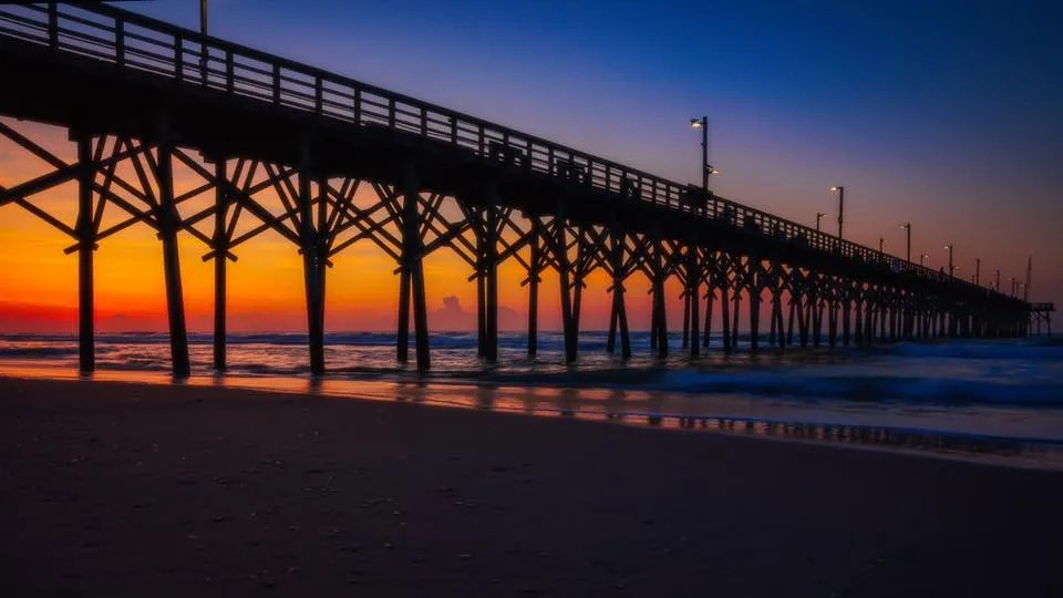 Sunrise in Surf City, NC by Mark C. Morris Photography - RCI Plus Topsail
