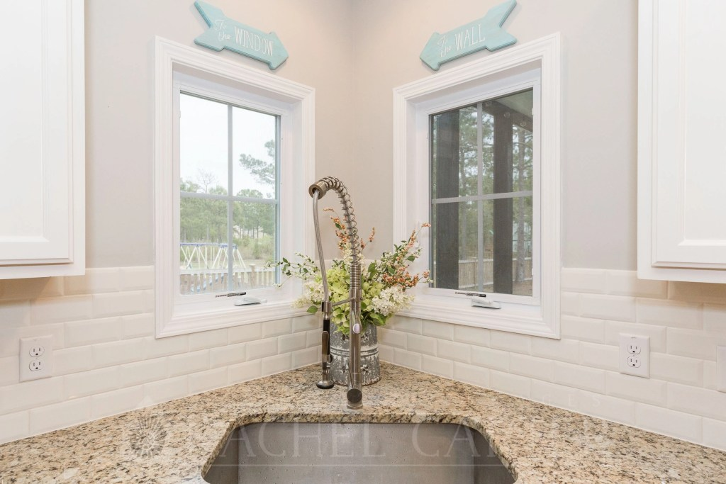 kitchen of house for sale sneads ferry, nc rachel carter images