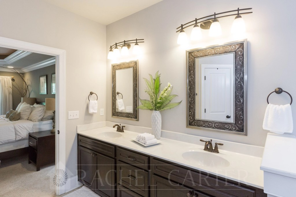 bathroom of house for sale sneads ferry, nc rachel carter images