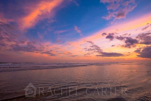 sunset north topsail beach rachel carter images