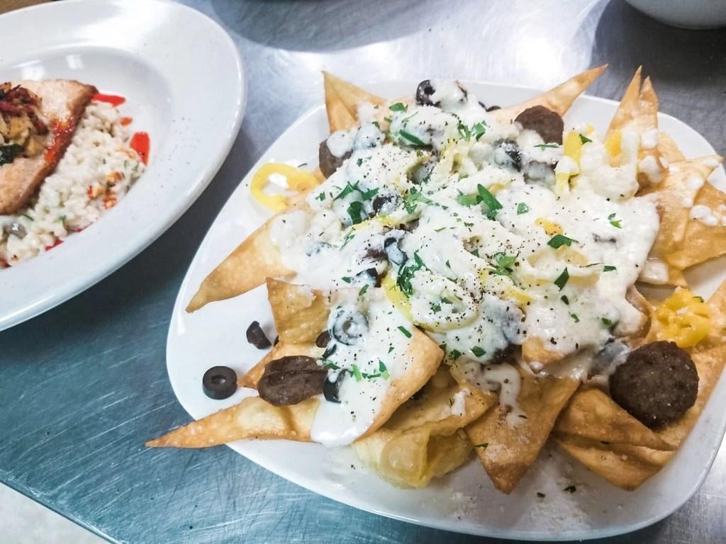 pasta nachos rosale's trattoria wilmington nc