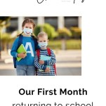 First Month of School during COVID - RCI Plus Topsail