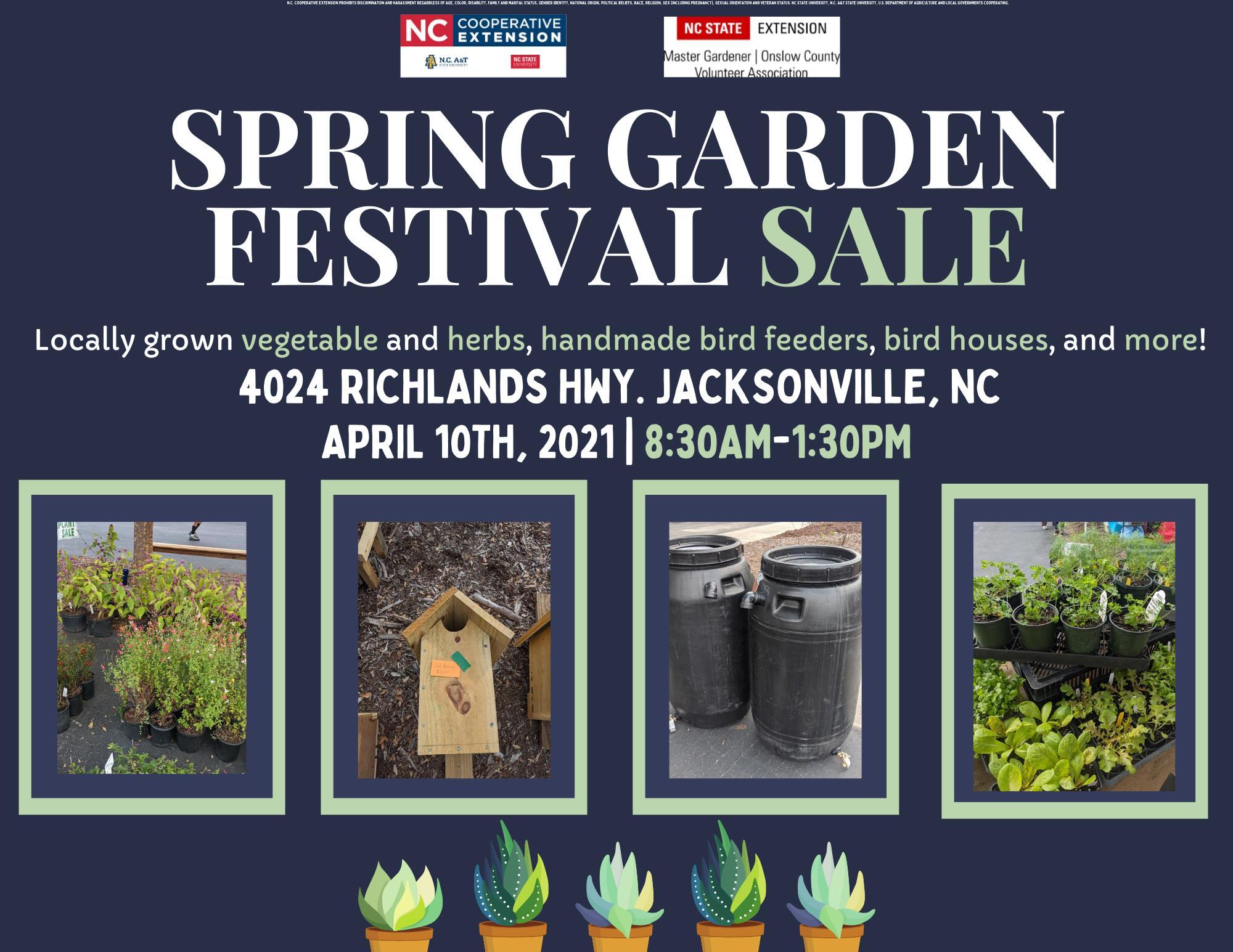 spring garden festival jacksonville nc