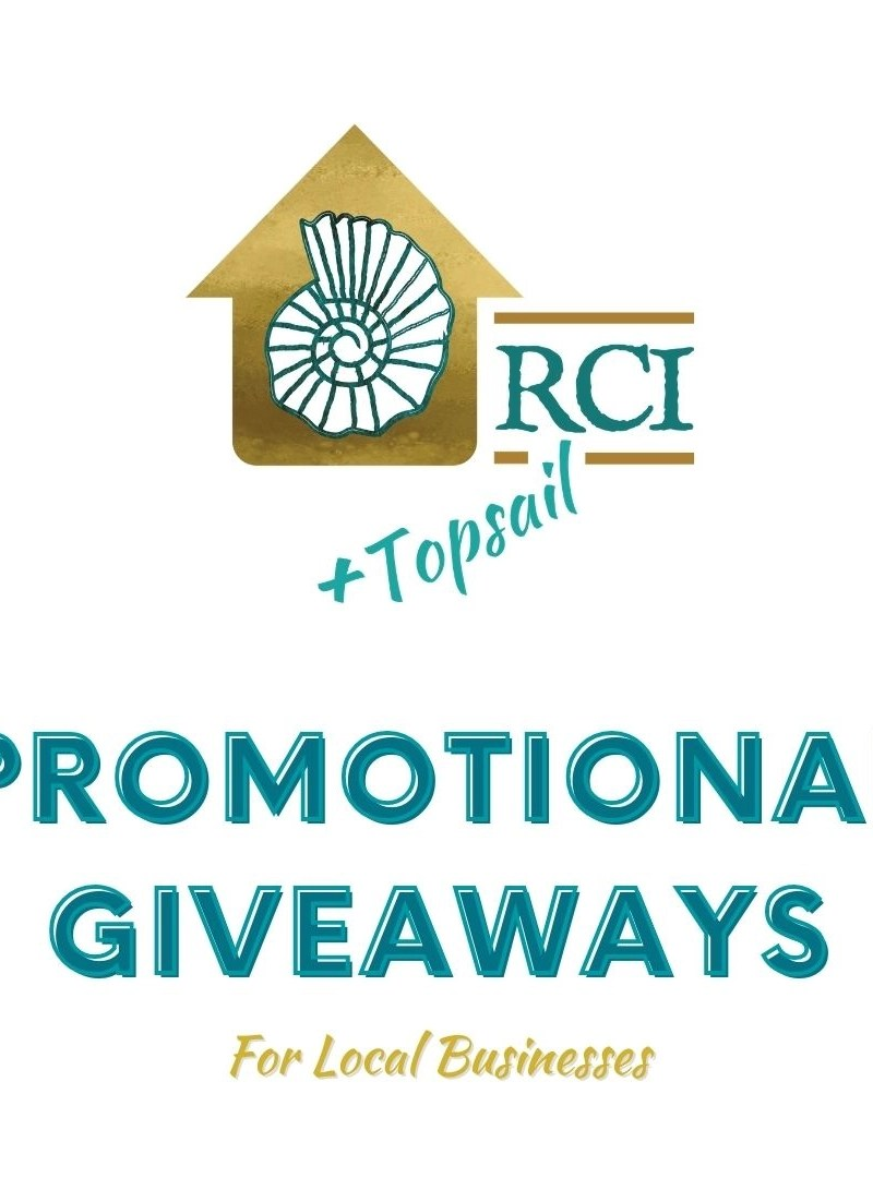 promotional giveaways for local businesses - RCI Plus Topsail