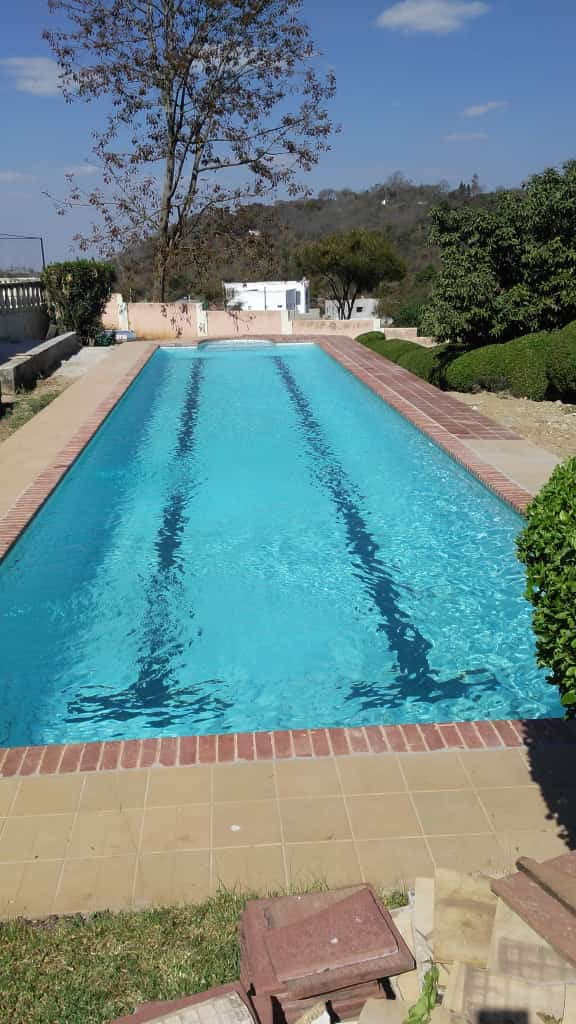 4a. Pool after refilling