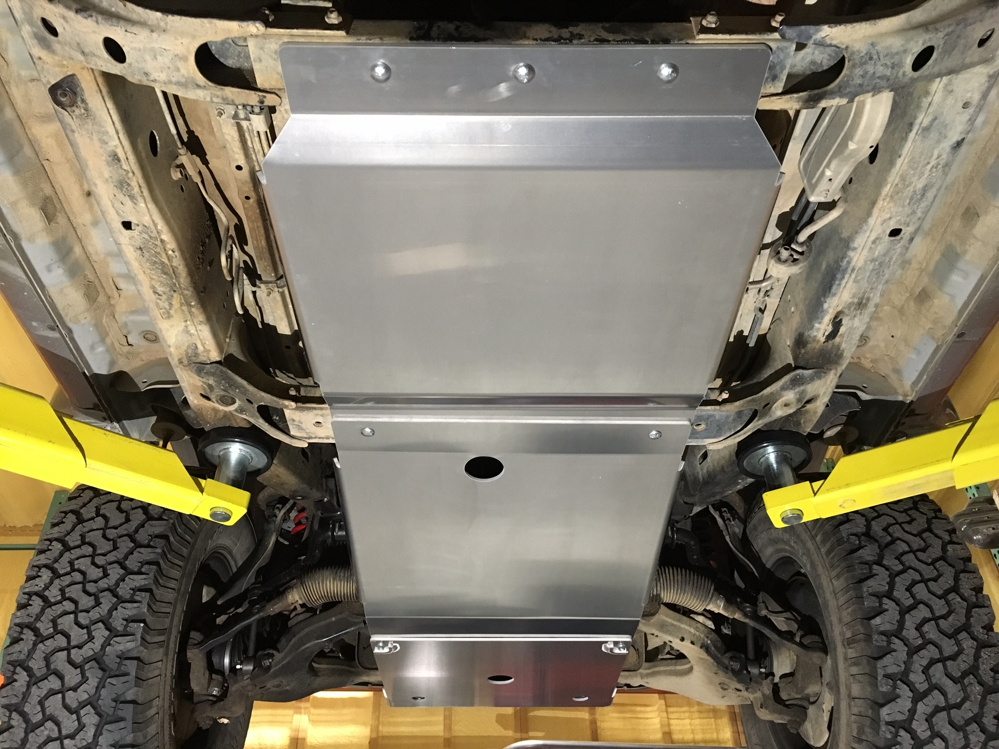 96-02 4Runner Transfer Case Skid Plate