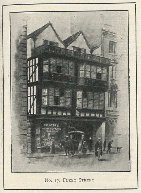 17 Fleet Street from the February 1916 issue of Nursing Notes