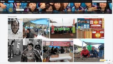 ゴメンナサイ!国際ロータリー「Flickr Family of Rotary」写真掲載について!!