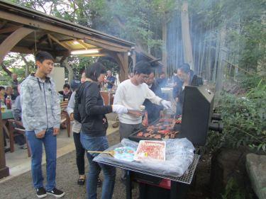 桐蔭IAC・YE来日学生・横浜緑RC 「緑区民まつり & BBQパーティー」