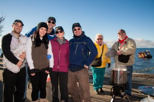 Polar Bear Swim 2016, Davis Bay