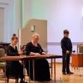 Лойко Е.Ю., Ольшанский С., Кононова Д. на концерте класса Л.П.Чистилиной-Кулаковой 10.04.2014