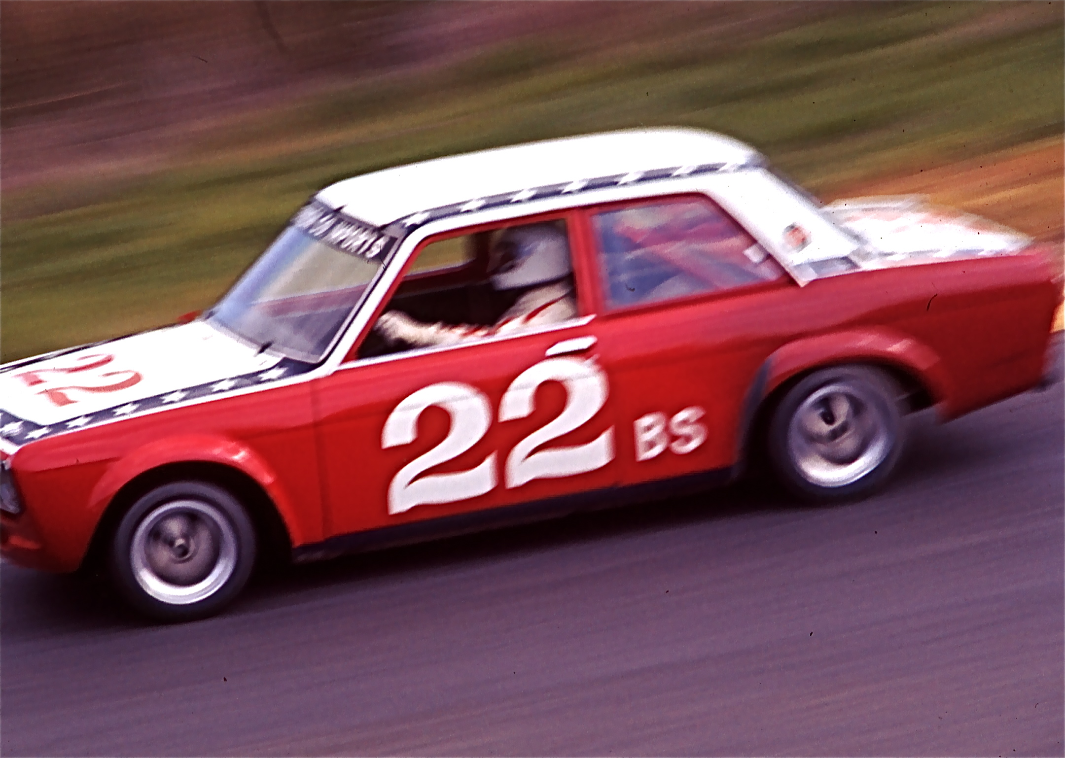 Photo: Art Charles (Sears Point Racing school) March 1976