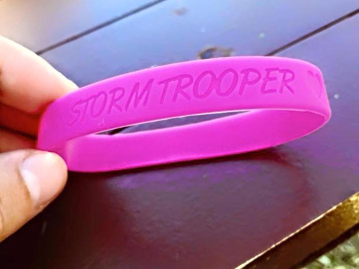 "Become a ""Stormtrooper"" and help a young girl in the fight of her life."