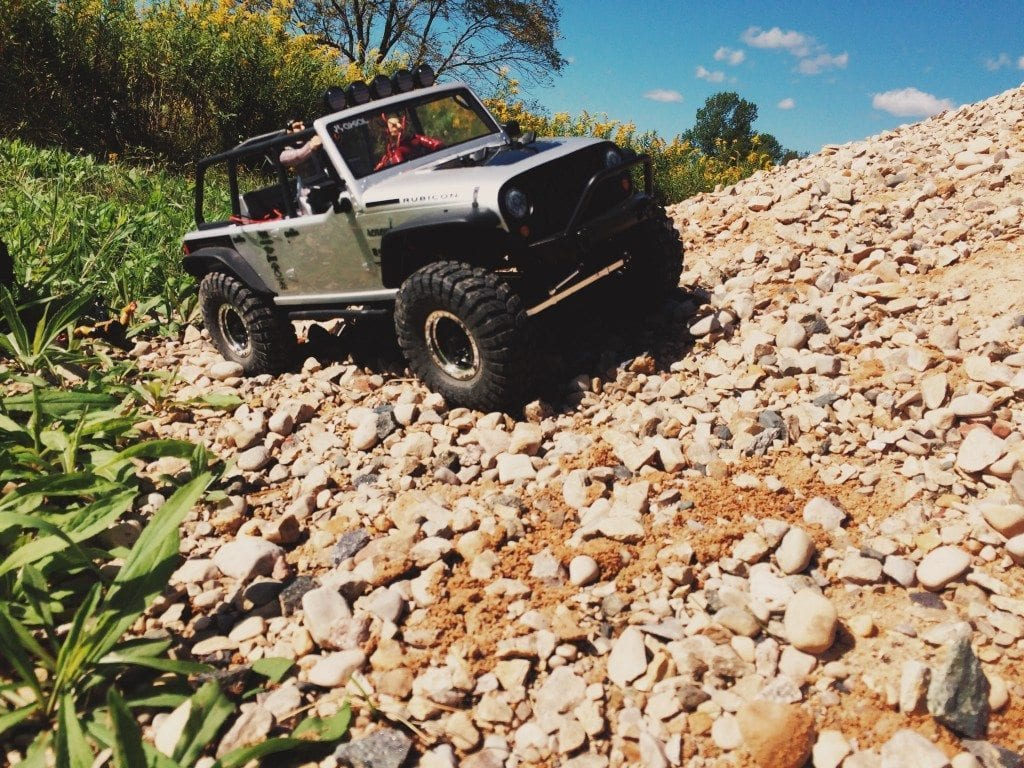 Jeep Wrangler Unlimited Rubicon RTR from Axial