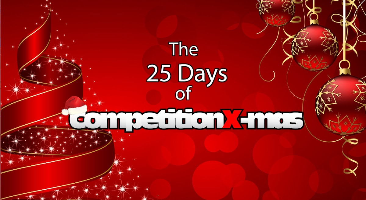 "Get into the Holiday Spirit with the ""25 Days of CompetitionX-Mas""!"