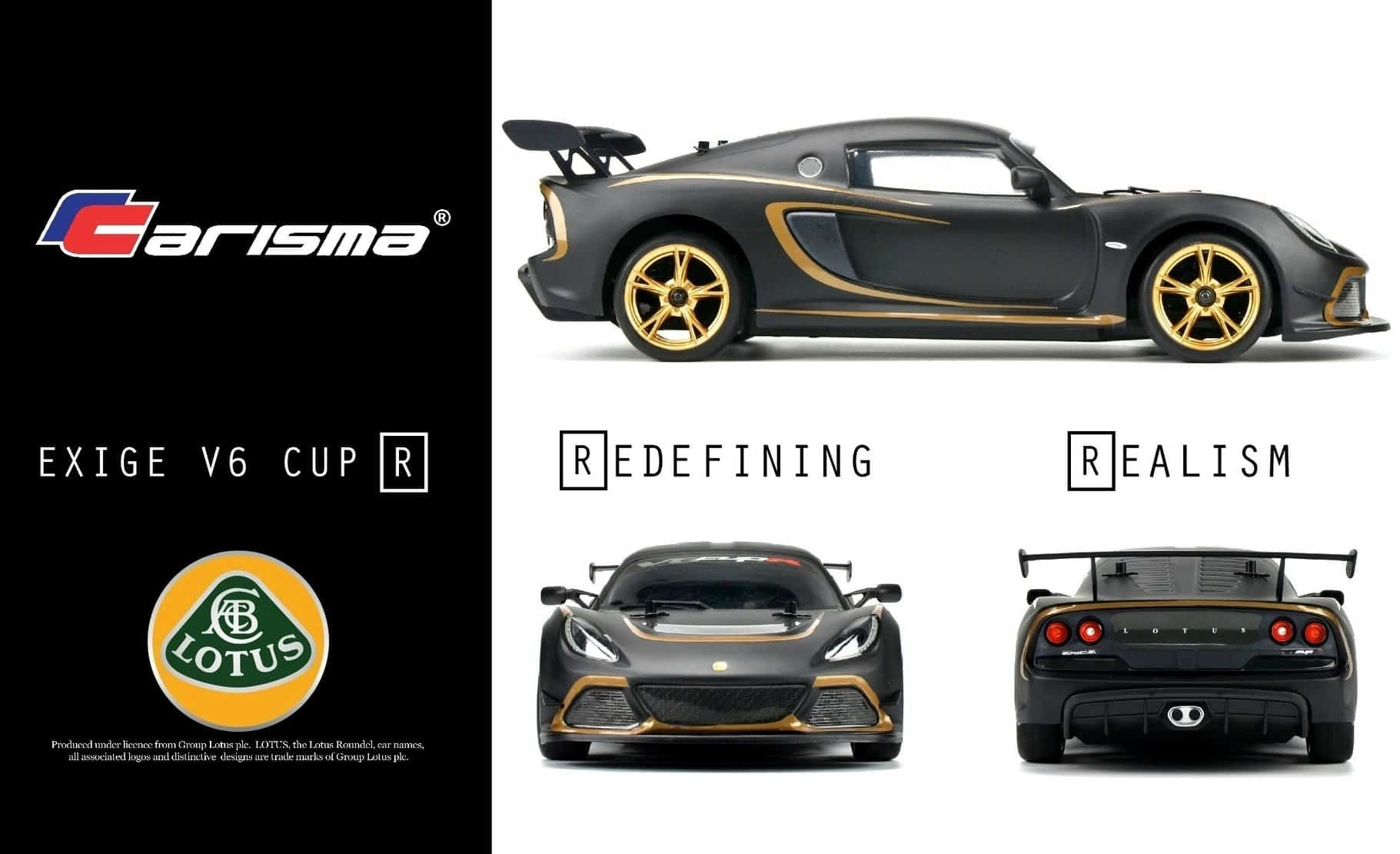 Carisma Reveals Specs and Pricing for the Lotus Exige V6 Cup R