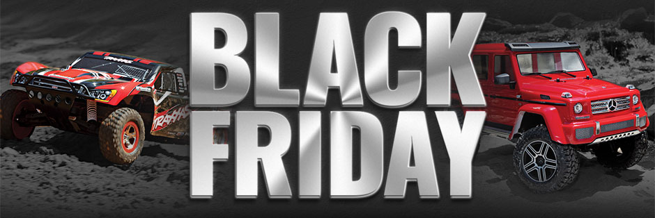 Get More For Your Money with These Black Friday Deals from Traxxas